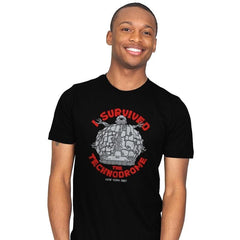 Technodrome Survivor - Mens - T-Shirts - RIPT Apparel
