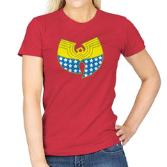 Woman Clan Exclusive - Wonderful Justice - Womens - T-Shirts - RIPT Apparel