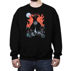 Final Battle - Crew Neck Sweatshirt - Crew Neck Sweatshirt - RIPT Apparel