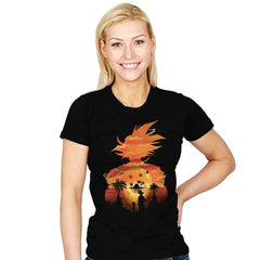 Beautiful Sunset - Womens - T-Shirts - RIPT Apparel