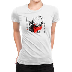 A Brush with the Force Exclusive - Womens Premium - T-Shirts - RIPT Apparel