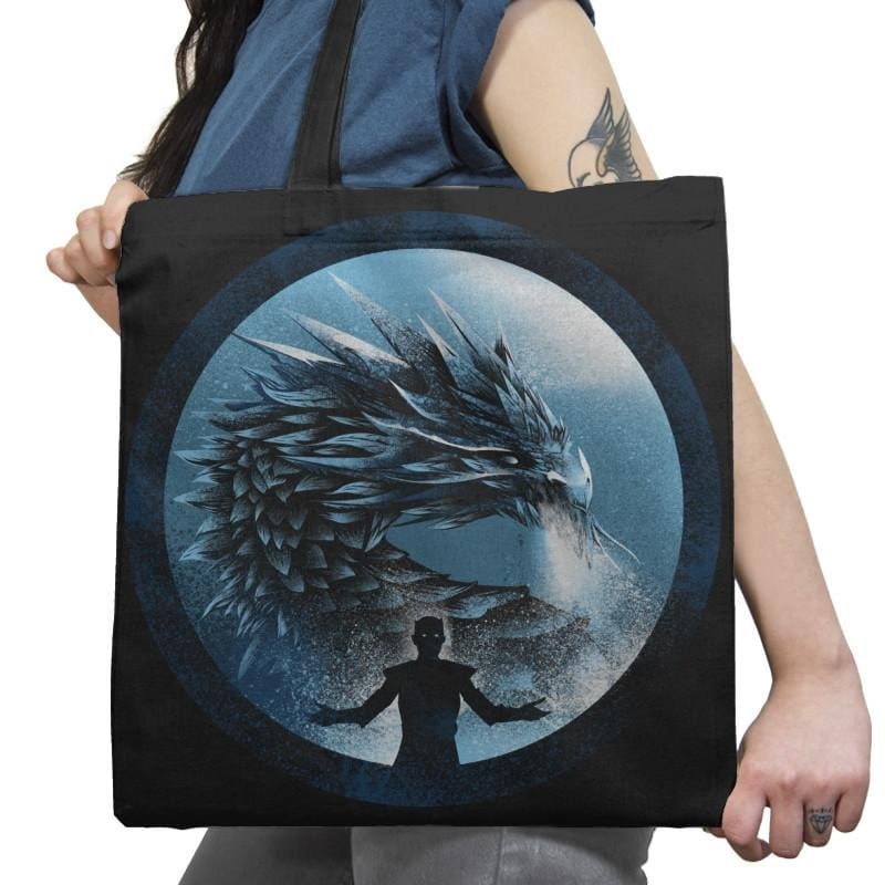 The Night's Dragon - Game of Shirts - Tote Bag - Tote Bag - RIPT Apparel