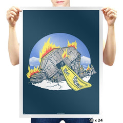 Emergency Exit - Prints - Posters - RIPT Apparel
