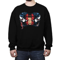 Spiders and Symbiotes - Crew Neck Sweatshirt - Crew Neck Sweatshirt - RIPT Apparel
