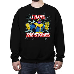 I have the Stones - Crew Neck Sweatshirt - Crew Neck Sweatshirt - RIPT Apparel
