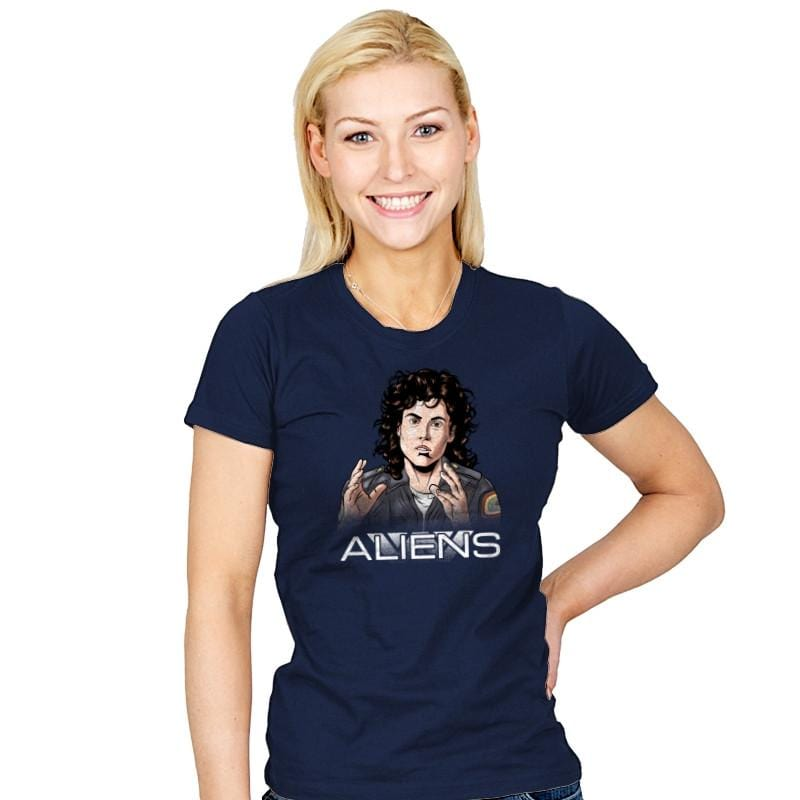 Aliens - Extraterrestrial Tees - Womens - T-Shirts - RIPT Apparel