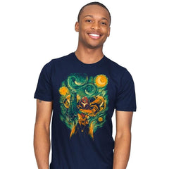 Starry Hunter - Mens - T-Shirts - RIPT Apparel