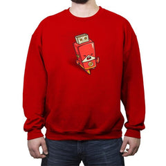 Flash Drive - Crew Neck Sweatshirt - Crew Neck Sweatshirt - RIPT Apparel