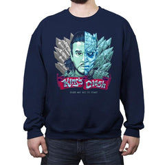 King's Clash - Crew Neck Sweatshirt - Crew Neck Sweatshirt - RIPT Apparel