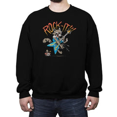 Thrash Panda - Crew Neck Sweatshirt - Crew Neck Sweatshirt - RIPT Apparel