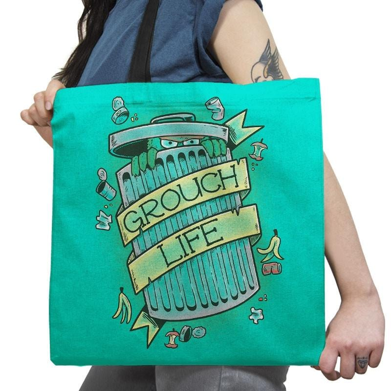 Grouch Life Exclusive - Tote Bag - Tote Bag - RIPT Apparel
