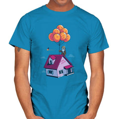 Adventure is Up There - Gamer Paradise - Mens - T-Shirts - RIPT Apparel