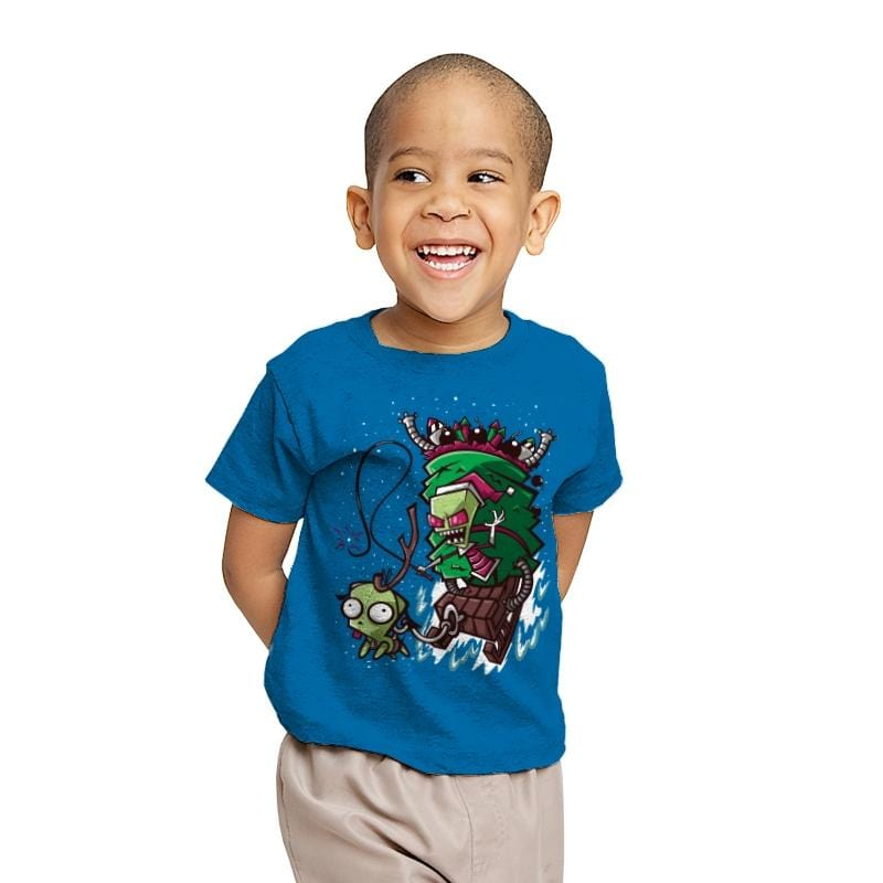 Zim Stole Christmas - Youth - T-Shirts - RIPT Apparel