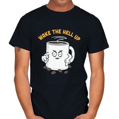 Wake Up Now! - Mens - T-Shirts - RIPT Apparel