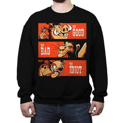 The Good The Bad And The Idiot - Crew Neck Sweatshirt - Crew Neck Sweatshirt - RIPT Apparel