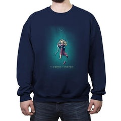 The Frog of Water - Crew Neck Sweatshirt - Crew Neck Sweatshirt - RIPT Apparel