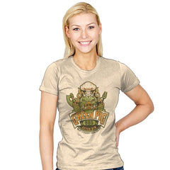 Green Pig BBQ - Womens - T-Shirts - RIPT Apparel