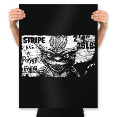 Stripe Has a Posse - Prints - Posters - RIPT Apparel