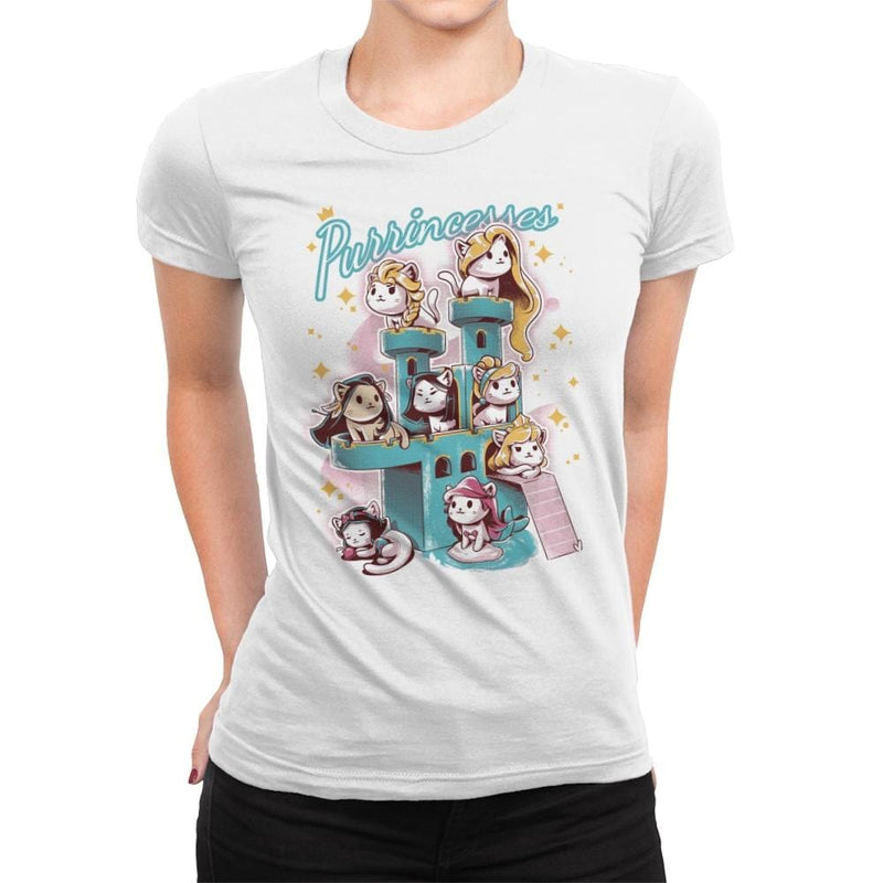 Purrrincess - Womens Premium - T-Shirts - RIPT Apparel