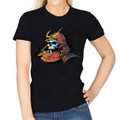 Samurai Skulls - Womens - T-Shirts - RIPT Apparel