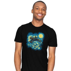 Starry Flight Reprint - Mens - T-Shirts - RIPT Apparel