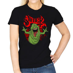 Slimy Ghost - Womens - T-Shirts - RIPT Apparel