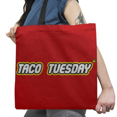 Taco Tuesday Exclusive - Tote Bag - Tote Bag - RIPT Apparel