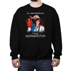 The Worminator - Crew Neck Sweatshirt - Crew Neck Sweatshirt - RIPT Apparel