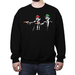 Bros Fiction - Crew Neck Sweatshirt - Crew Neck Sweatshirt - RIPT Apparel