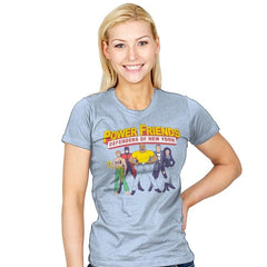 The Power Friends - Womens - T-Shirts - RIPT Apparel