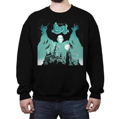 The Dark Lord Rock - Crew Neck Sweatshirt - Crew Neck Sweatshirt - RIPT Apparel