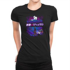 Attack on Marshmallow Exclusive - Womens Premium - T-Shirts - RIPT Apparel