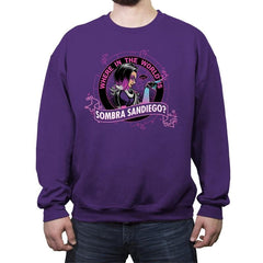 Where in the World is Sombra Sandiego? - Crew Neck Sweatshirt - Crew Neck Sweatshirt - RIPT Apparel