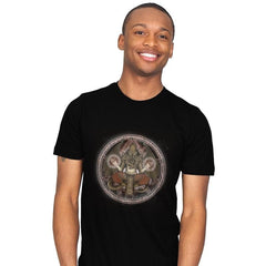The Cthulhu Runes - Mens - T-Shirts - RIPT Apparel