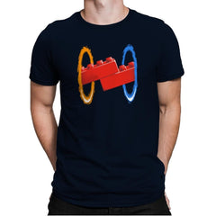 Now Your Building With Portals Exclusive - Mens Premium - T-Shirts - RIPT Apparel