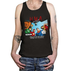 Straight Out For Justice - Tanktop - Tanktop - RIPT Apparel