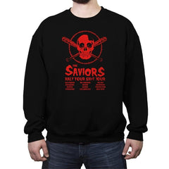 The Saviors: Half Your $#*! Tour - Crew Neck Sweatshirt - Crew Neck Sweatshirt - RIPT Apparel