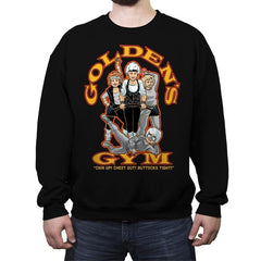 Golden's Gym - Crew Neck Sweatshirt - Crew Neck Sweatshirt - RIPT Apparel