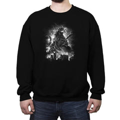 Rockzilla - Crew Neck Sweatshirt - Crew Neck Sweatshirt - RIPT Apparel