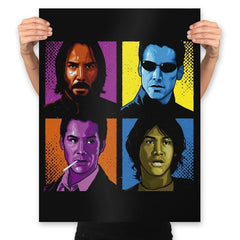 Pop Keanu - Prints - Posters - RIPT Apparel