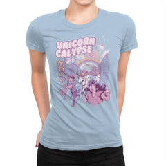 Unicorn Calypse - Womens Premium - T-Shirts - RIPT Apparel