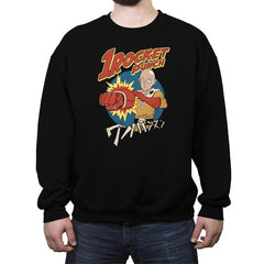One Rocket Punch - Crew Neck Sweatshirt - Crew Neck Sweatshirt - RIPT Apparel