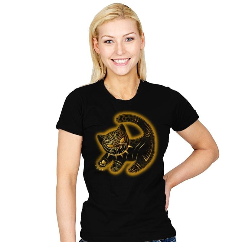 The Fake Panther King - Womens - T-Shirts - RIPT Apparel