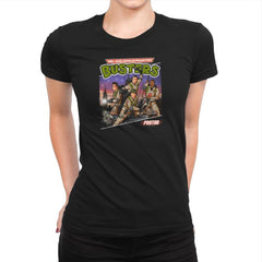 Mid-aged Genius Phantom Busters Exclusive - Womens Premium - T-Shirts - RIPT Apparel