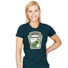 Rickz Pickles - Womens - T-Shirts - RIPT Apparel