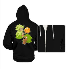 Three Broly Moon - Hoodies - Hoodies - RIPT Apparel