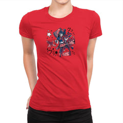 Harajuku Harley Exclusive - Womens Premium - T-Shirts - RIPT Apparel