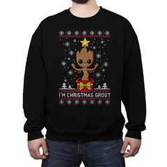 Christmas Tree - Ugly Holiday - Crew Neck Sweatshirt - Crew Neck Sweatshirt - RIPT Apparel