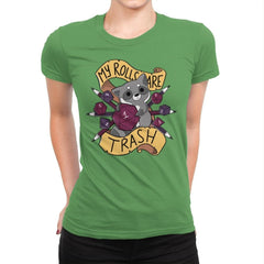 RPG Raccoon - Womens Premium - T-Shirts - RIPT Apparel