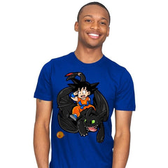 How to Train your Dragon Ball - Mens - T-Shirts - RIPT Apparel